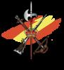 Escudo legion con bandera fondo 2