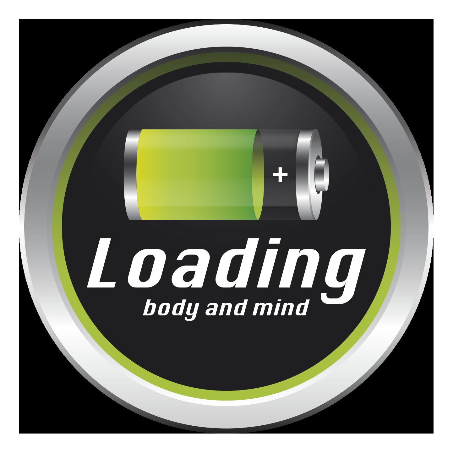 Logo loading transp